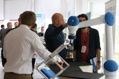 Pressinbjudan: Robotkonferens för tillverkningsindustrins framtid