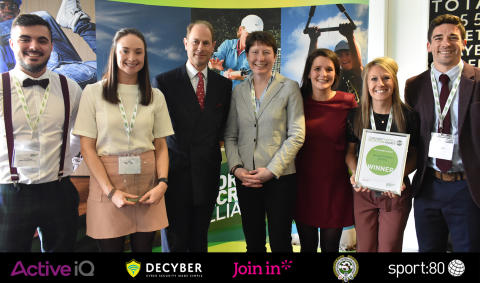 Royal seal of approval for student sport volunteers