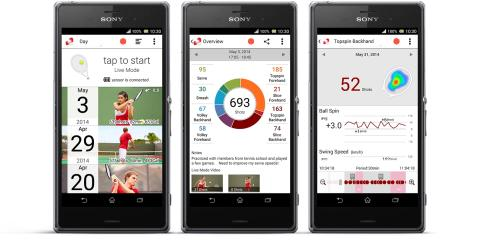 Smart Tennis Sensor_App von Sony_03