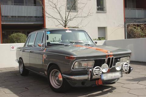 BMW 2000 tii Ausstellungsstück Techno Classica (Foto: Volker Hakenes)