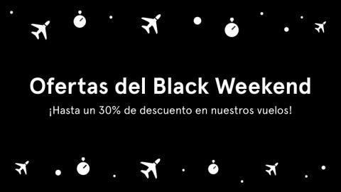 Norwegian ofrecerá pasajes con descuentos de hasta 30 por ciento por Black Weekend, para su operación de cabotaje y su vuelo a Londres