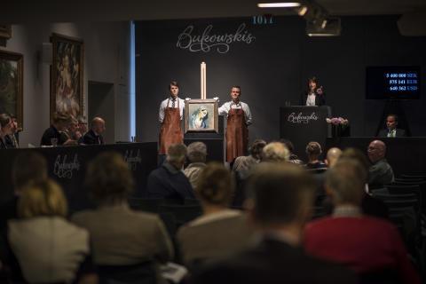 Strindbergs Fantasilandskap sålde för 7,595 miljoner