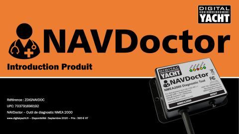 Digital Yacht introduit NAVDoctor, un outil de diagnostic de réseau NMEA 2000