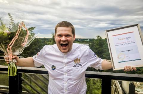 Guld till Victor Magdeburg på Högberga Gård