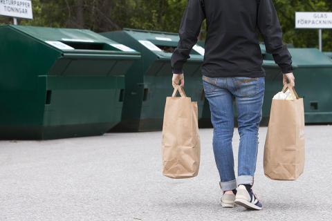 Återvinningsstation i Timrå får ny plats