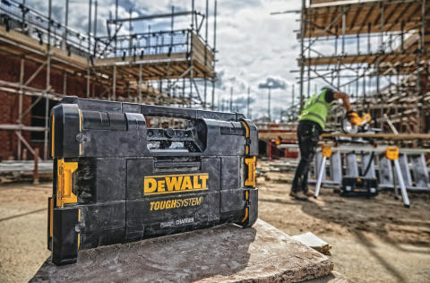 DEWALT® Introduces ToughSystem® 2.0 Radio & Charger