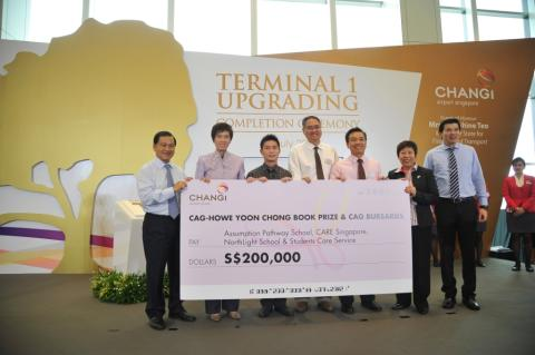 Changi Airport Group launches Book Prize in honour of Mr Howe Yoon Chong