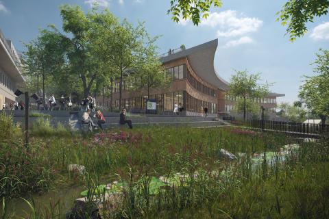 Albano ska bli Sveriges första campusområde som certifieras enligt Citylab