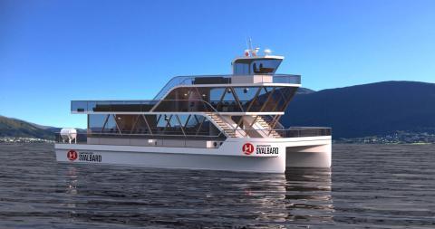 Hurtigruten introduces electric explorer catamarans