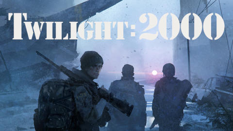 Kickstarter for Twilight: 2000 by Free League Funded in Seven Minutes