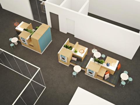 HSB Living Lab tvättstudio 2