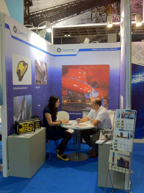 Cavotec Norway at OTCBrazil