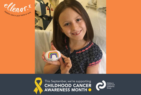 #ChildhoodCancerAwarenessMonth: Florence's personal story about her journey.