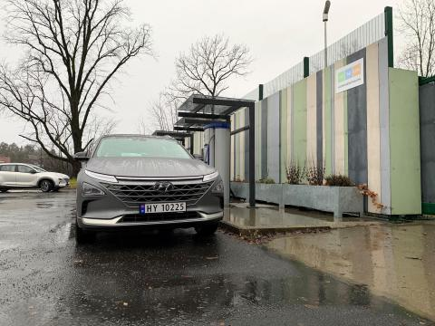 Hydrogenfylling åpnet igjen i Norge