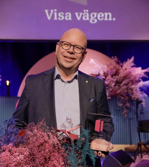 Grönsakshallen Sorunda är Årets arbetsgivare på Visa vägen-galan