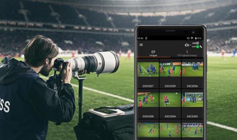 Le nouveau logiciel « Imaging Edge » améliore la connectivité mobile et développe les capacités créatives des appareils photo Sony