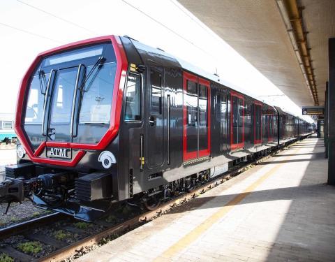 Metro Milano_ nuovo treno liena 1