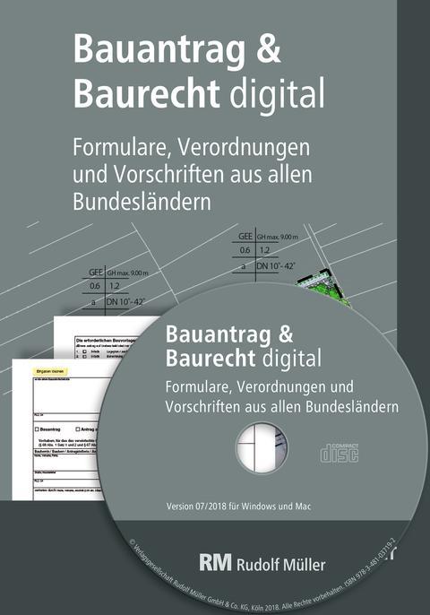 Bauantrag & Baurecht digital (2D/tif)
