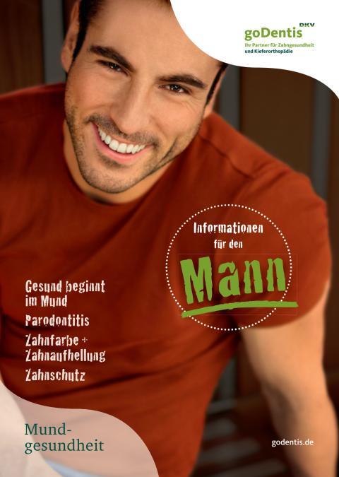 Mundgesundheit: Informationen für den Mann