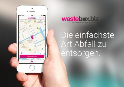 Wastebox - Die einfachste Art Abfall zu entsorgen.