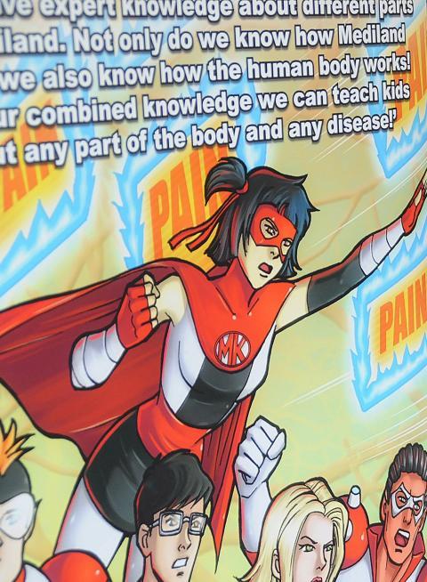 Comic books to help children understand chronic pain