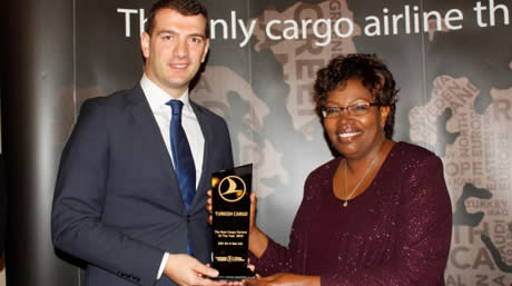 DSV awarded Best Cargo Partner 2015 by Turkish Airlines