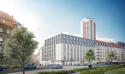 ZÜBLIN und SRE, Hotel Hauptbahnhof, Leipzig