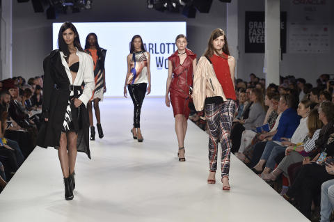 Northumbria's fashion students conquer the audience at London Graduate Fashion Week
