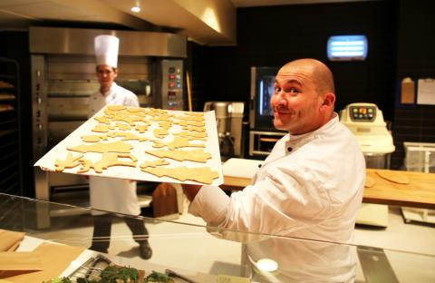 Remi Gagnaire er baker på Deiglig Bakeri