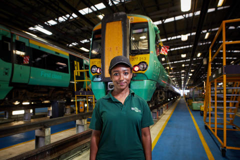 Calling at all stations to equality: UK's largest rail company launches recruitment campaign to increase diversity on the railways