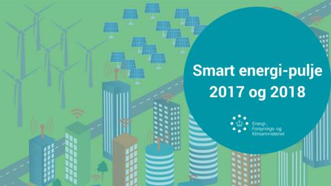 Indkaldelse af ansøgninger til Smart energi-pulje 2017 og 2018