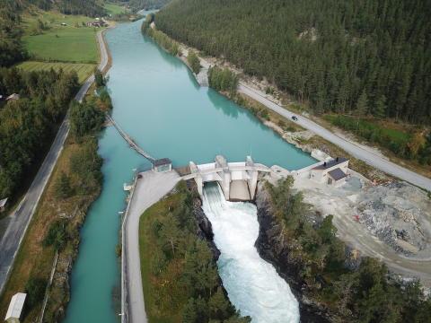Utsetter offisiell åpning av Nedre Otta kraftverk