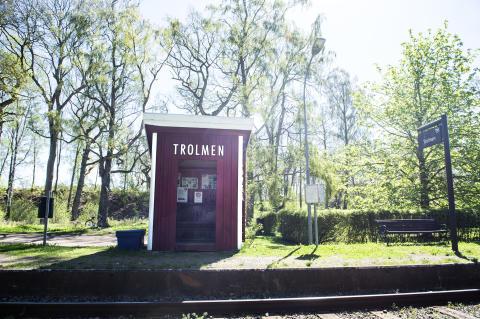 Sveriges vackraste tågresa bild 3  - Trolmen
