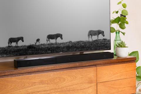 Living Room style with Sony ZF9 Soundbar 8b