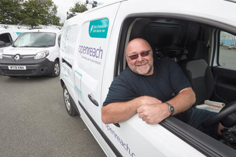 Openreach plugs-in Leeds electric vehicle trial in a bid to drive down carbon footprint