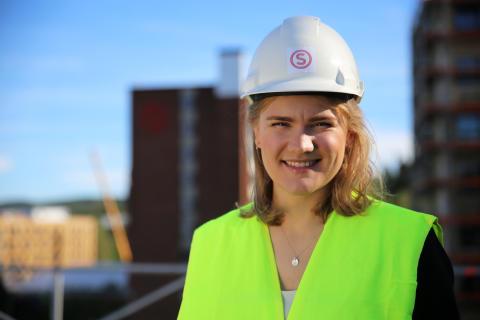 Gabrielle L. Gjerdset, styreleder i SiO i 2017