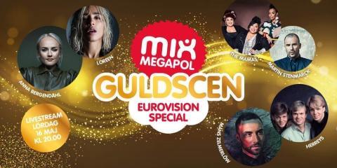 Eurovisionspecial på Mix Megapol Guldscen