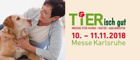 dm auf der TIERisch gut in Karlsruhe