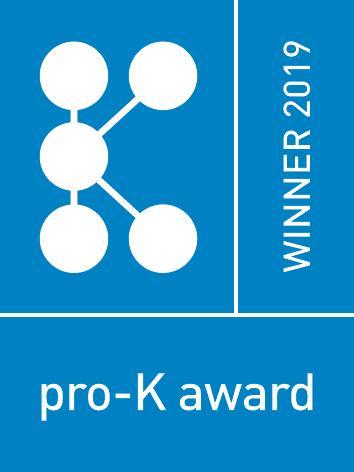 WALTHER gewinnt pro-K award