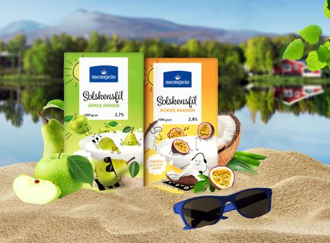 """Norrmejerier skapar """"sommarfiling"""" -  Norrlands soligaste fil nu ute i butik"""