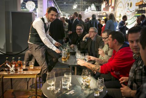 Tullamore Dew på En Öl & Whiskymässa 2013