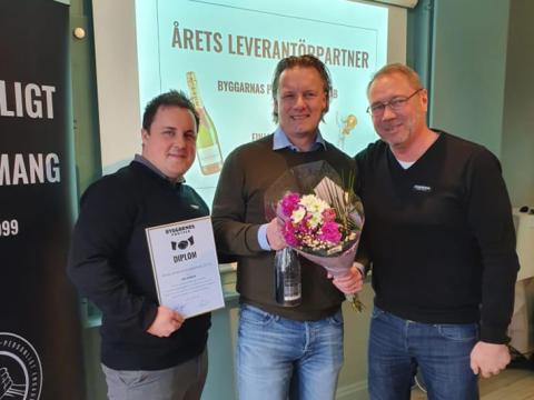 Finja Betong årets leverantörspartner