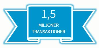 DIBS slår rekord i antalet transaktioner under ett dygn