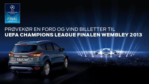 BESØG FORD I WEEKENDEN OG VIND BILLETTER TIL UEFA CHAMPIONS LEAGUE FINALEN