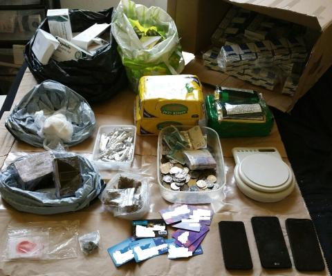 Southport drugs, stolen items recovered