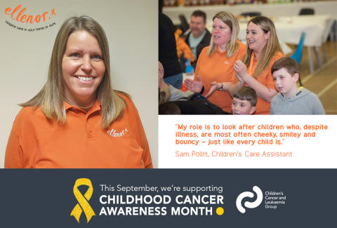 Childhood Cancer Awareness Month: My role as a Children's Care Assistant