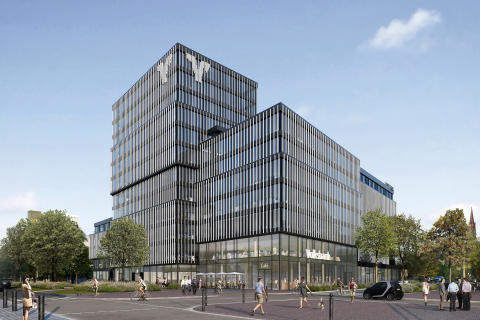 ZÜBLIN, Volksbank Areal 2018 Ansicht 1, Freiburg