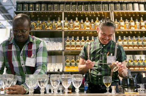 Nigab på En Öl & Whiskymässa