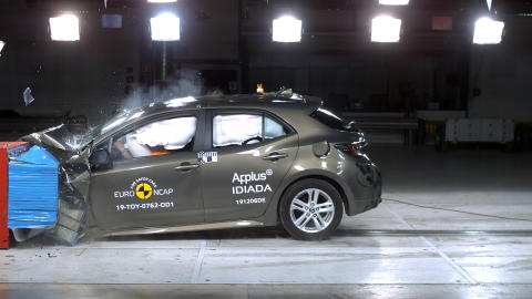 Toyota Corolla Frontal Offset Impact Test May 2019