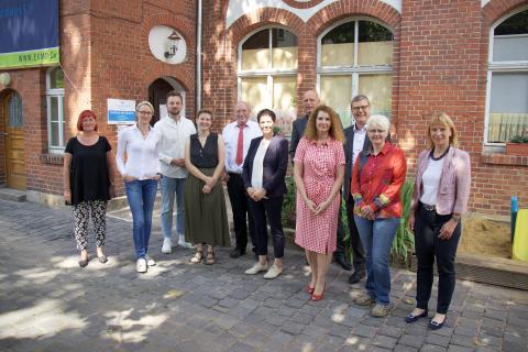 Gruppenfoto Stiftergemeinschaft